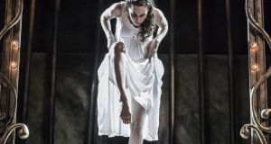 Stephanie Dufresne in The  Red Shoes. Photographer: Ste Murray
