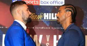 Tony Bellew and David Haye's rematch will take place on May 5th 2017. Photograph: Adam Davy/PA