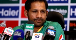 Pakistan's Sarfraz Ahmed was one of three  international captains who has reported illicit approaches in the past two months. Photograph: Getty Images