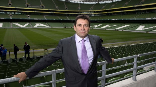 Is David Nucifora a proxy for the IRFU committee or does he have plenipotentiary powers? Photograph: Billy Stickland