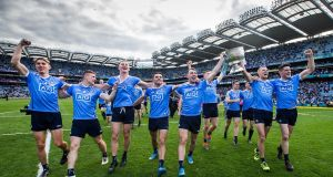 Winning All-Irelands, for all that it creates a positive feeling within counties and communities, is essentially a private affair for teams and players. Photograph: Tommy Dickson/Inpho