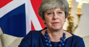 British prime minister Theresa May:  It seems incredible that, 18 months after the Brexit vote, the British government has not spelled out what exactly it wants from the negotiations. Photograph: Andy Rain/Bloomberg