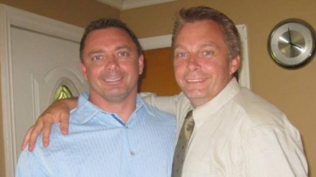 Doug jnr and Steve Alexander, who died in the crash on the N25 near Cushinstown in Co Wexford.