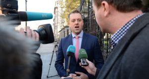 "Thomas Byrne, Fianna Fáil TD and education spokesman, said teacher retirement figures show ""people are literally running out of the profession"". Photograph: Alan Betson"