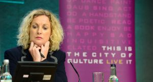 Orlaith McBride, the director of the Arts Council,  has told the Oireachtas Joint Committee on Culture, Heritage and the Gaeltacht that she rejects an inference of conflict of interest . File photograph: Frank Miller/The Irish Times.
