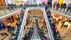 Bullring shopping centre in Birmingham. Photograph: Jon Super/PA Wire
