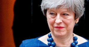A man was remanded in custody in Britain on terror charges over a plot to assassinate prime minister Theresa May. Photograph: Tolga Akmen/AFP/Getty Images.
