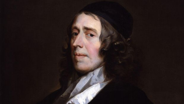 "John Owen, painted by John Greenhill: ""How is it that Jesus Christ is in Ireland only as a lion staining all his garments with the blood of his enemies, and none to hold him out as a lamb sprinkled with his own blood to his friends?"""