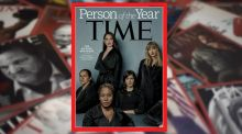 Time magazine names 'silence breakers' as person of the year