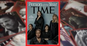 Ashley Judd, Susan Fowler, Adama Iwu, Taylor Swift and Isabel Pascual feature on the cover