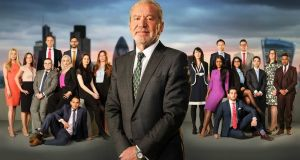 Now, in this 13th season, Alan Sugar's punctured features have clenched into a permanent grimace.