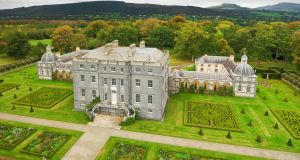 The restored palladian mansion, Castletown Cox, went up for sale in July of this year.