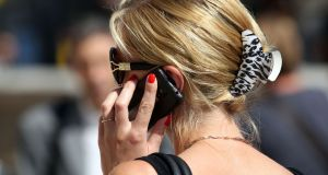 Only 10 per cent of phone users have switched mobile phone handset due to coverage or signal problems and of those, 55 per cent found that switching improved their coverage, compared to 4 per cent who found that their service deteriorated. File photograph: Steve Parsons/PA Wire