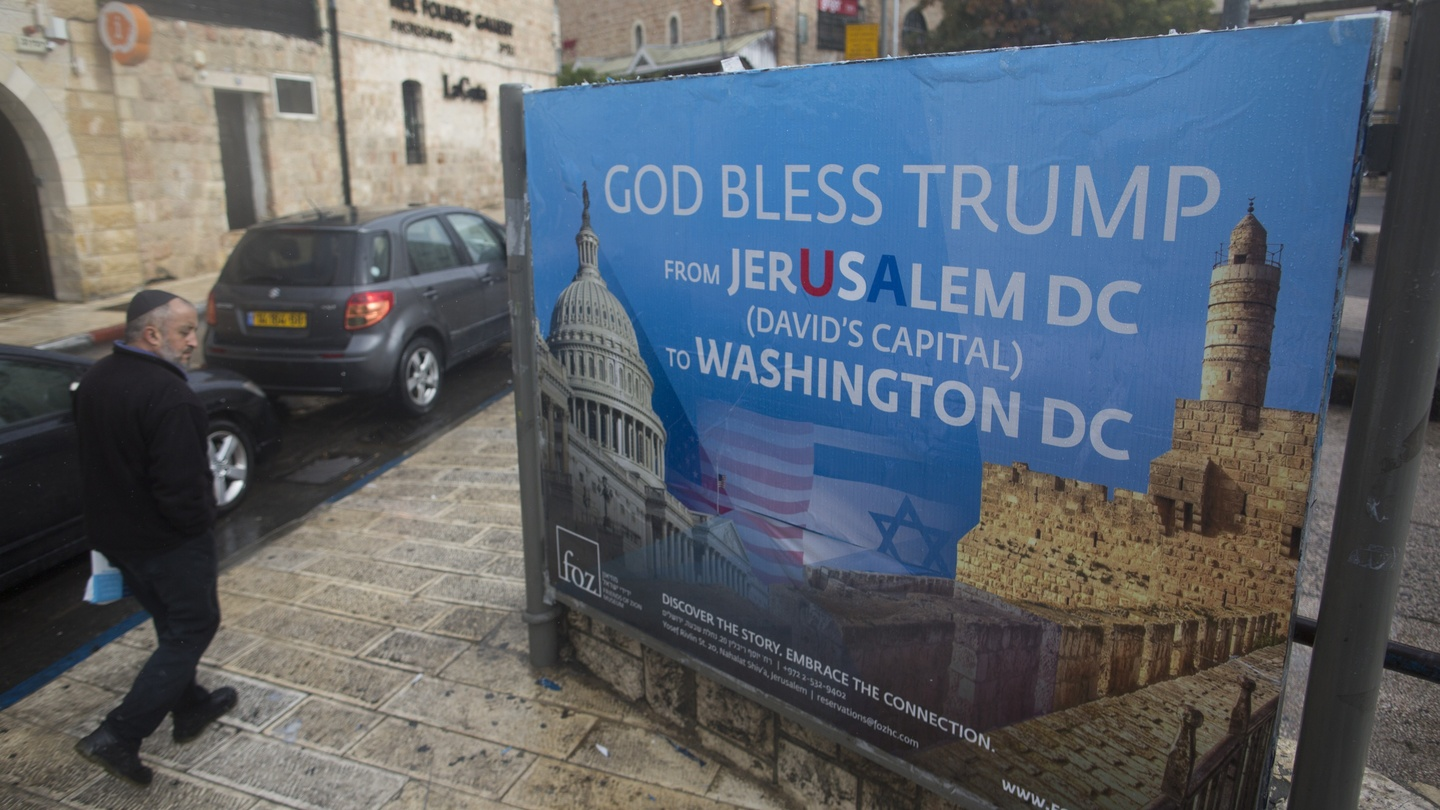Moving us embassy to jerusalem is a big deal and a bad idea fandeluxe Gallery