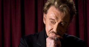 Elvis Presley of France: Johnny Hallyday in 2011. Photograph: Ed Alcock/New York Times