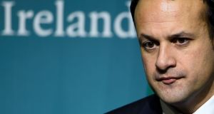 Leo Varadkar: the last time a taoiseach had this sort of approval rating was in July 2011. Photograph: Clodagh Kilcoyne/Reuters