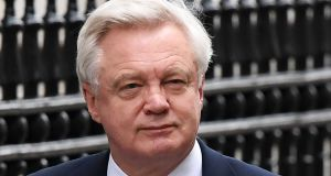 "Brexit secretary David Davis: Told a select committee 53 sectoral analyses  he had previously described as ""excruciatingly"" detailed on the impact of leaving the EU on the British economy, did not actually exist. Photograph: Andy Rain/EPA"