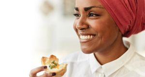 Great British Bake Off: Nadiya Hussain's cheese scones with chive butter caused a sensation when aired on the TV show that accompanied her book