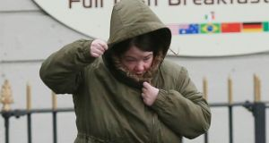 Jacqueline Walsh (33), with an address in Millbrook Lawns, Tallaght, arriving at Dublin Circuit Criminal Court. Photograph: Collins Courts.
