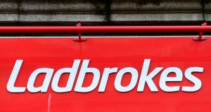 GVC's offer values Ladbrokes Coral at 160.9 pence per share, equating to a total equity value of around £3.1 billion. Photograph: Dara Mac Dónaill/The Irish Times