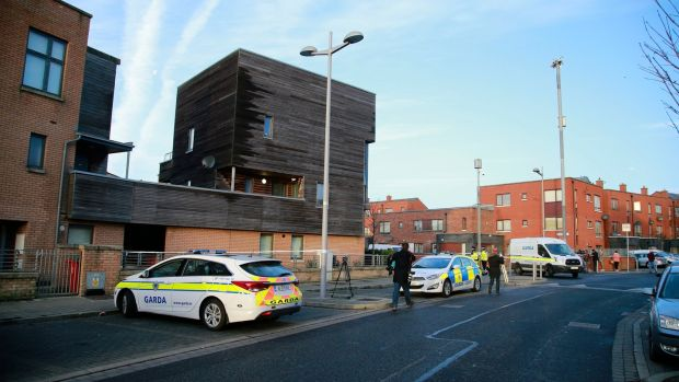 A Garda has been shot in north Dublin this morning