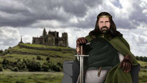 You can now travel Ireland in the wake of our kings and queens – including Niall of the Nine Hostages. Illustration: Expedia