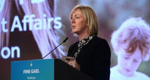 The Minister for Employment and Social Protection Regina Doherty said the new legislation would significantly improve the employment protections for people  in less secure arrangements. Photograph: Dara Mac Donaill / The Irish Times