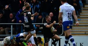 Leinster face a tough double-header against  Gareth Steenson's in-form  Exeter Chiefs side in the Champions Cup. Photograph: Harry Trump/Getty Images