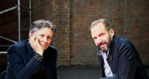 Gabriel Byrne and Ralph Fiennes in 'My Astonishing Self'