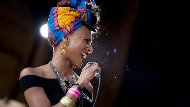 Loah brings her fusion of afro-soul, jazz and indie to Róisín Dubh in Galway on Sunday. Photograph: Olga Kuzmenko