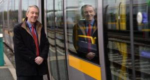 Peter Lunden-Welden, chief executive Transdev Ireland, has a holistic view of city transportation networks that focuses on the benefit of reducing traffic. Photograph: Dara Mac Dónaill / The Irish Times