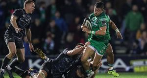 Connacht's Tiernan O'Halloran could move to Munster next summer. Photograph: Billy Stickland/Inpho