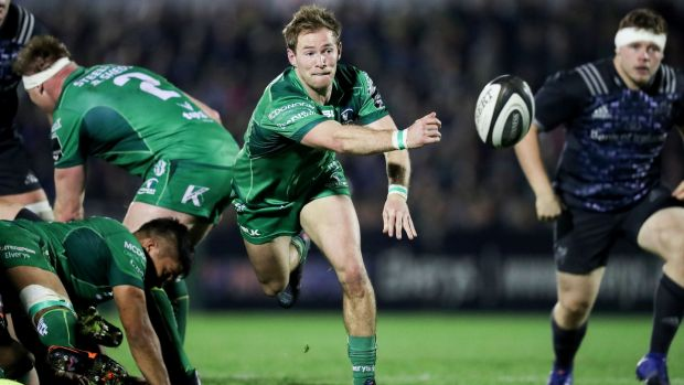 Kieran Marmion has agreed a new deal with Connacht. Photograph: Billy Stickland/Inpho