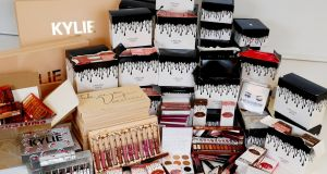 Counterfeit beauty products seized during the week. Photograph: Maxwellphotography.ie