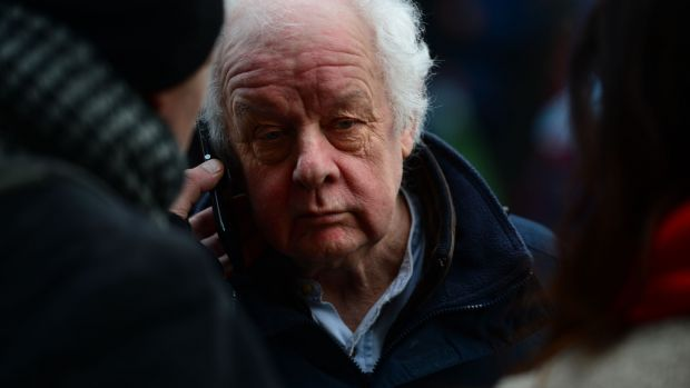 Jim Sheridan, at Apollo House on January 11th. Photograph: Dara Mac Dónaill / The Irish Times