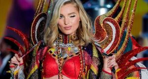 Swedish model Elsa Hosk at the 2017 Victoria's Secret fashion show in Shanghai in November. Photograph: Fred Dufour/AFP/Getty Images