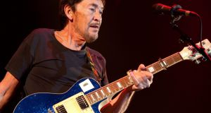 Chris Rea is best known for his hit song 'Driving Home for Christmas'. Photograph: Peter Kollanyi/EPA
