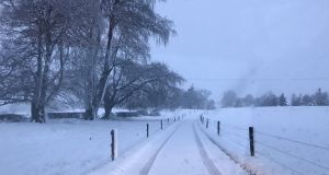 Weekend snowfall In pictures: Your photos of snow from around the country