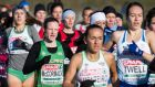 Fionnuala McCormack came 12th in the European Cross Country in Slovakia. Photograph: Sasa Pahic Szabo/Inpho