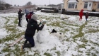 Snow transforms Galway into a winter wonderland