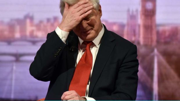 David Davis on The Andrew Marr Show.