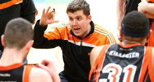 "Pyrobel Killester coach Brian O'Malley on his side's victory against Moycullen: ""We had to fight for everything. We had to match their ferocious intensity."" Photograph: Cathal Noonan/Inpho"