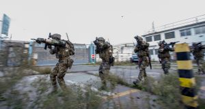 The Defence Forces conducted a major exercise in  Dublin last week to assess the responsiveness of the emergency forces during a possible terror attack