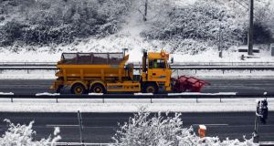 Winter weather: the national road maintenance budget pays for the gritting and salting of roads during snow and ice. Stock photograph: Matt Cardy/Getty