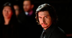 Adam Driver at the red carpet event for 'Star Wars: The Last Jedi'. Photograph: EPA/FRANCK ROBICHON
