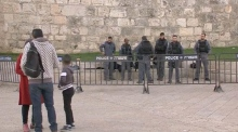 Israeli police deploy in Jerusalem amid tension