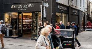 Molton Brown, 80 Grafton Street, Dublin has been sold to Irish Life