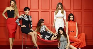 A publicity shot for Keeping Up with the Kardashians