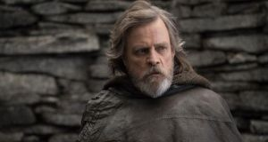 Mark Hamill takes centre stage as Luke Skywalker in Star Wars: The Last Jedi