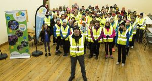 Siúl Eile groups have completed more than 200 walks involving about 700 people who between them have walked more than 40,000km, according to founder founder Noel Fleming (front).